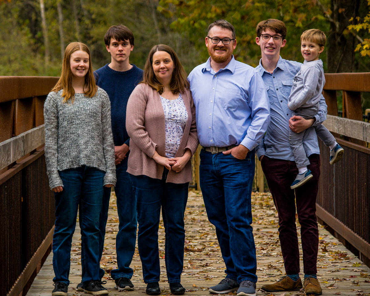 The Rohl Family, autumn 2018