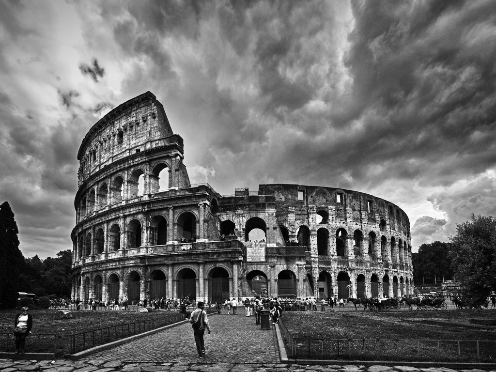 Photo of the Colosseum, Rome