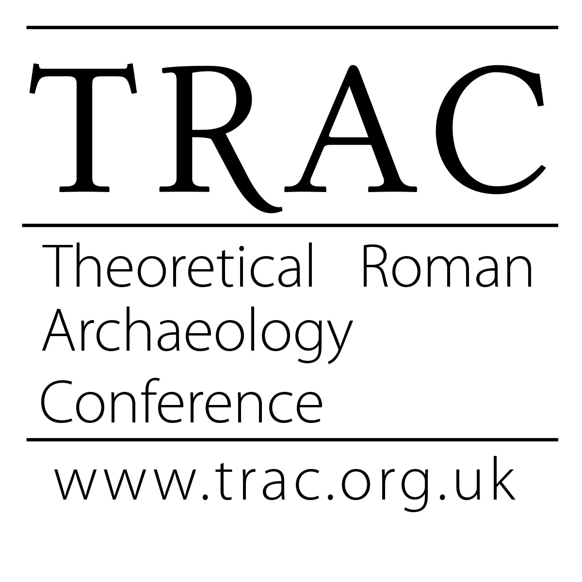 Theoretical Roman Archaeology Conference (TRAC) logo